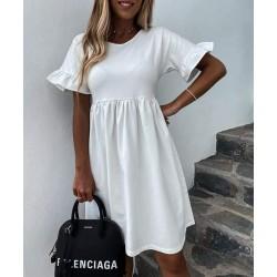 White Cute Elegance ruha