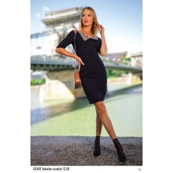BEBE Kate ruha fekete-ocelot